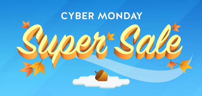 Squirrels Cyber Monday sale