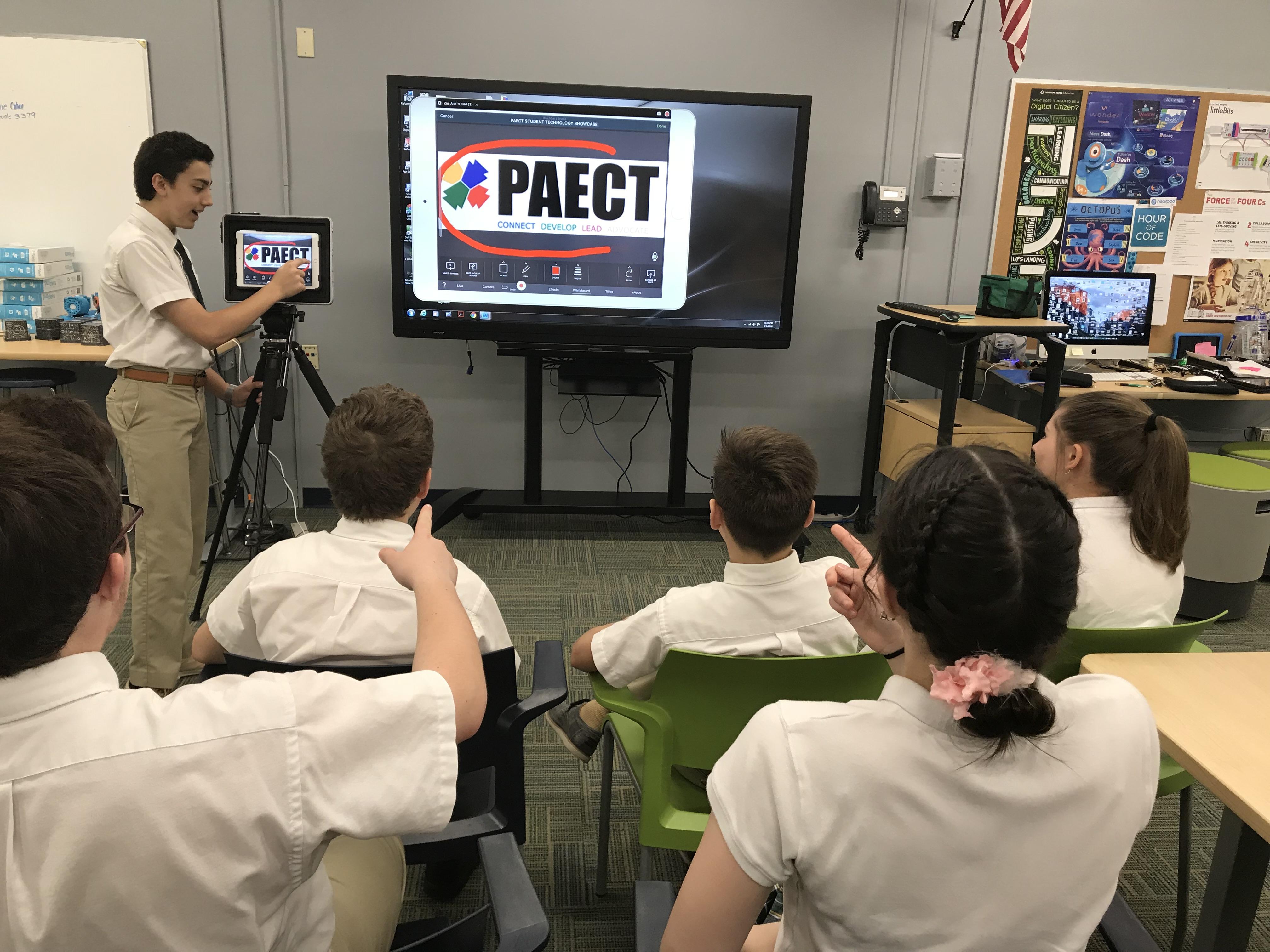Reflector Teacher screen mirror edtech