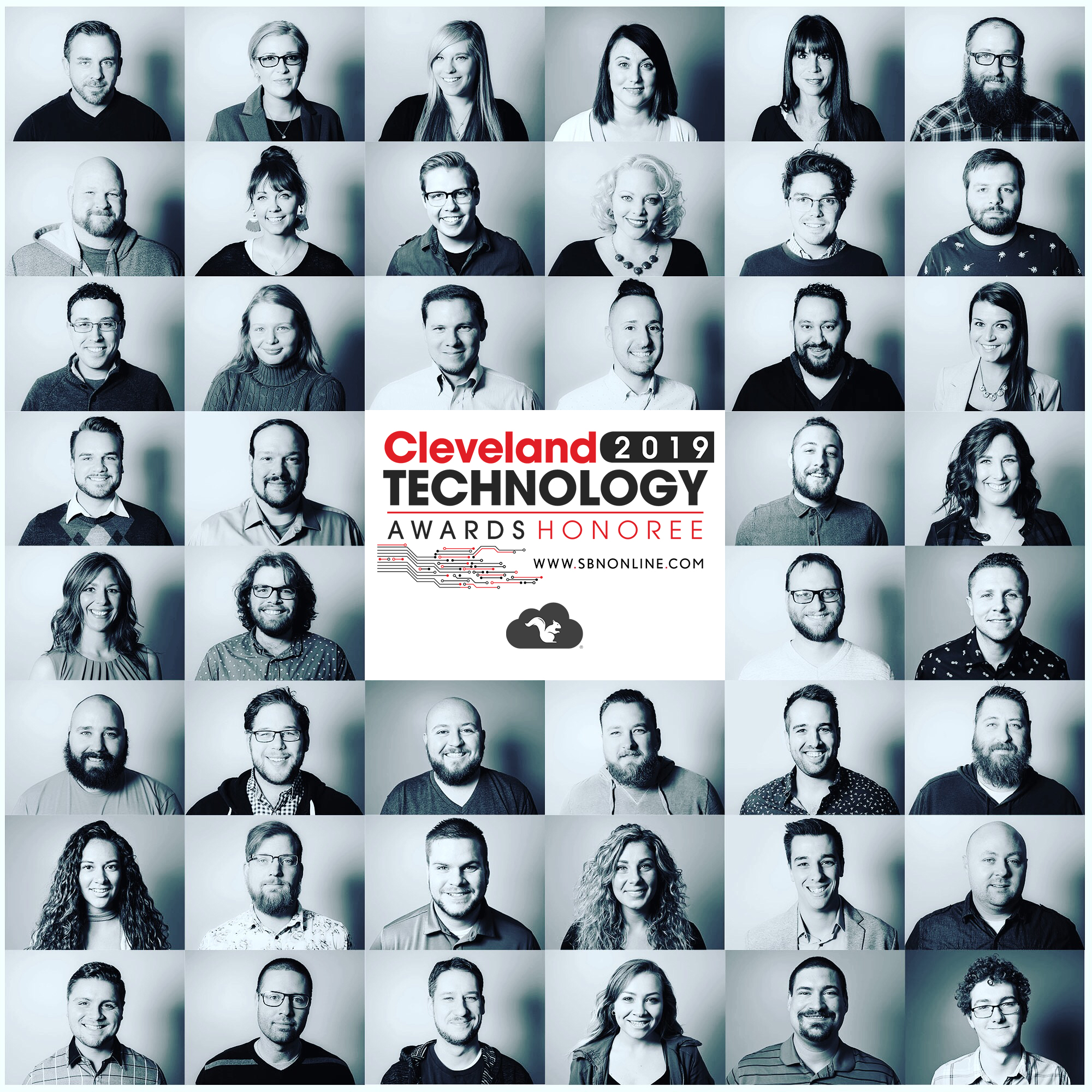 Squirrels 2019 Cleveland Tech Award