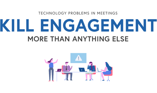 Technology problems kill employee engagement