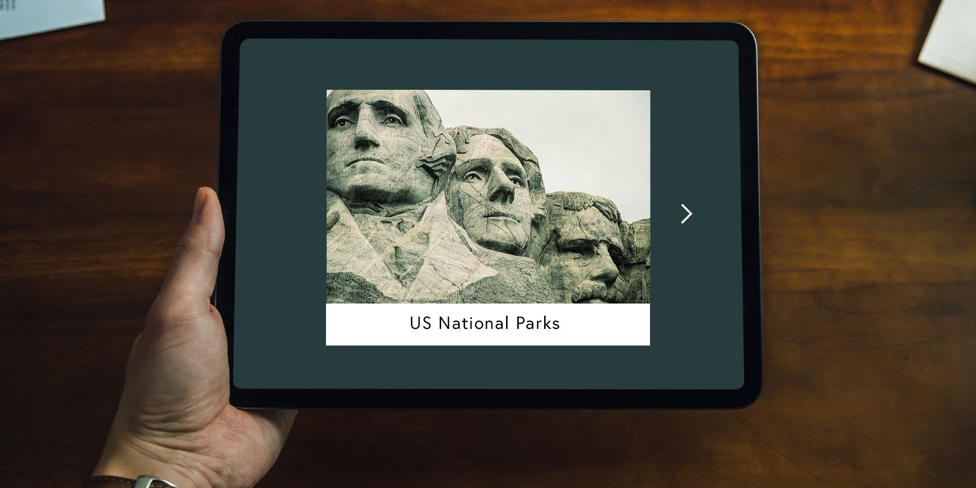 Book Creator image on iPad