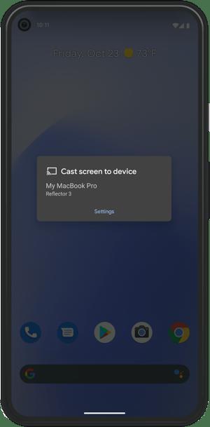 Google Pixel Cast receivers
