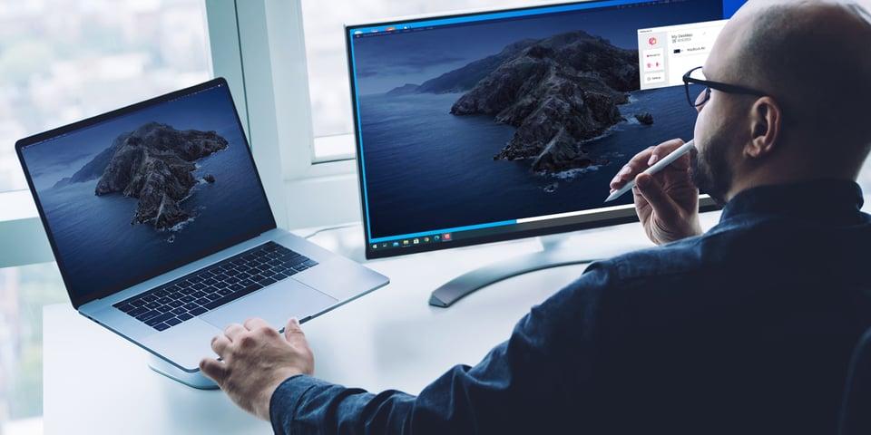 Extend Mac Desktop to Windows