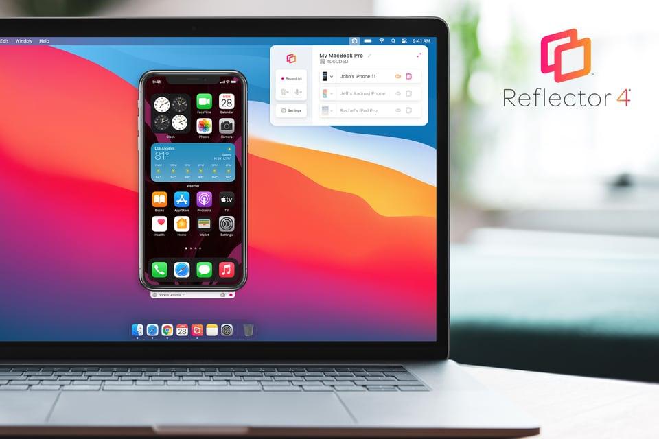 Reflector 4 new UI