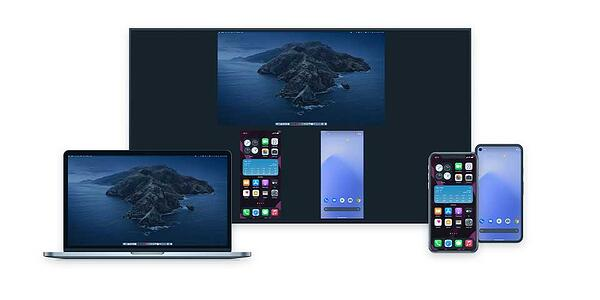 Screen mirror iPhone, Android Phone and MacBook to Apple TV