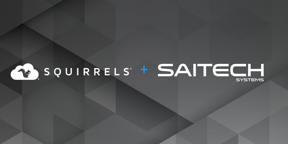 Squirrels partners with SAITECH Systems