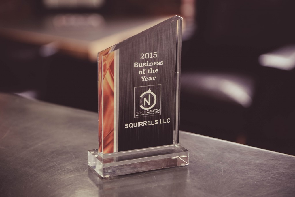 Squirrels Business of the Year 2016