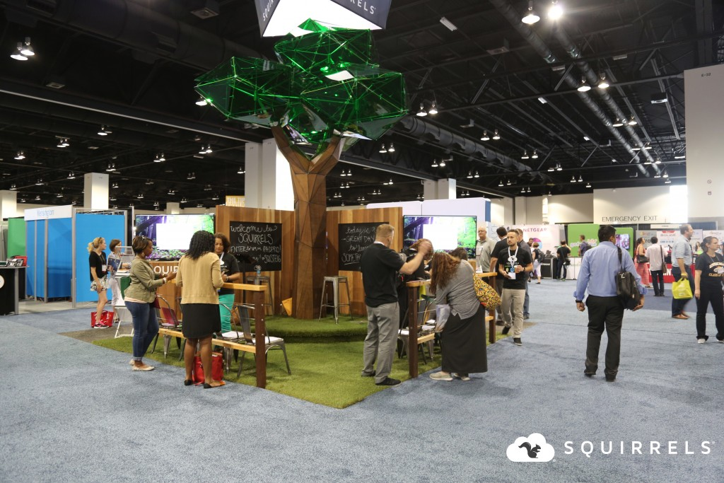 Squirrels Booth Iste 2016 Tree
