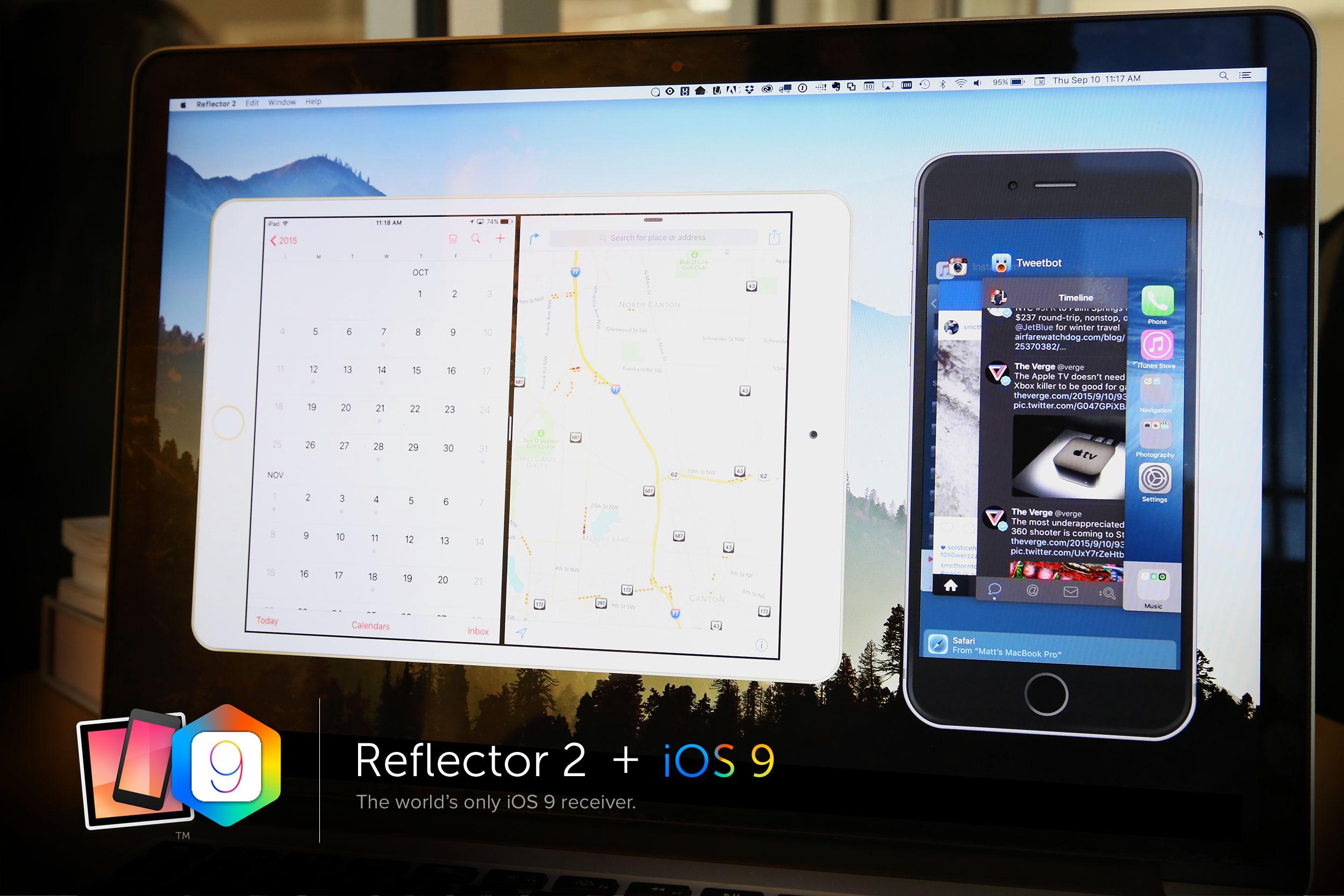 iOS 9 Reflector 2
