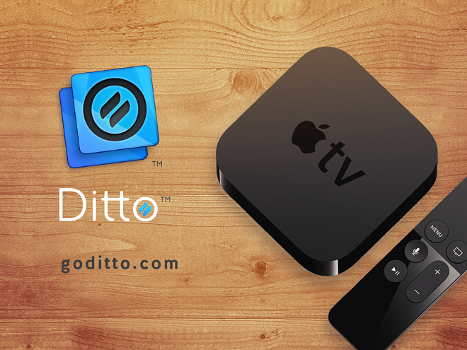 Ditto Apple TV Screen Share