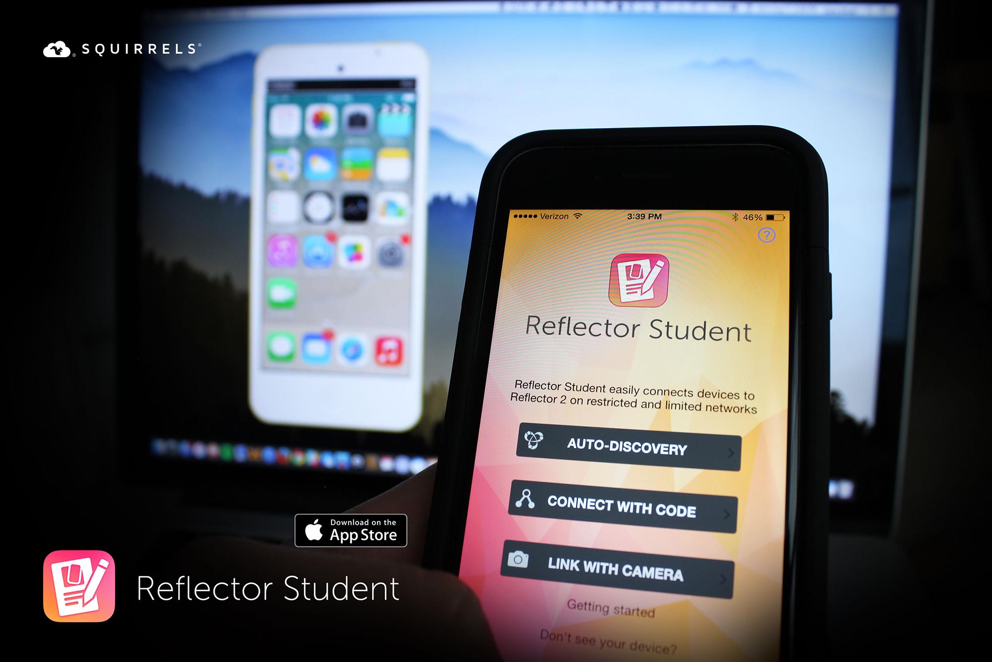 Reflector Student Press Shot