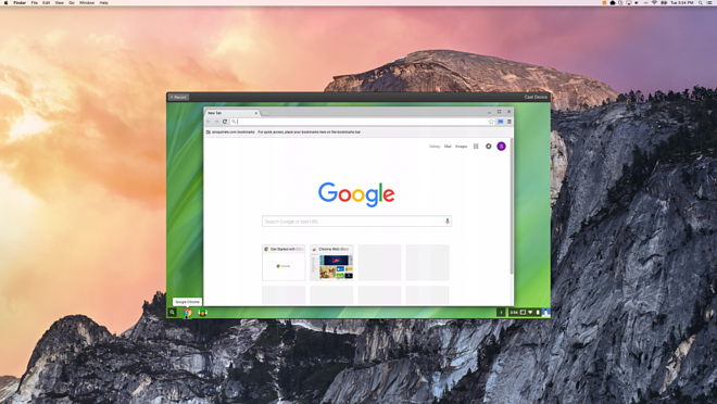 How To Wirelessly Mirror An Entire Chromebook Display to