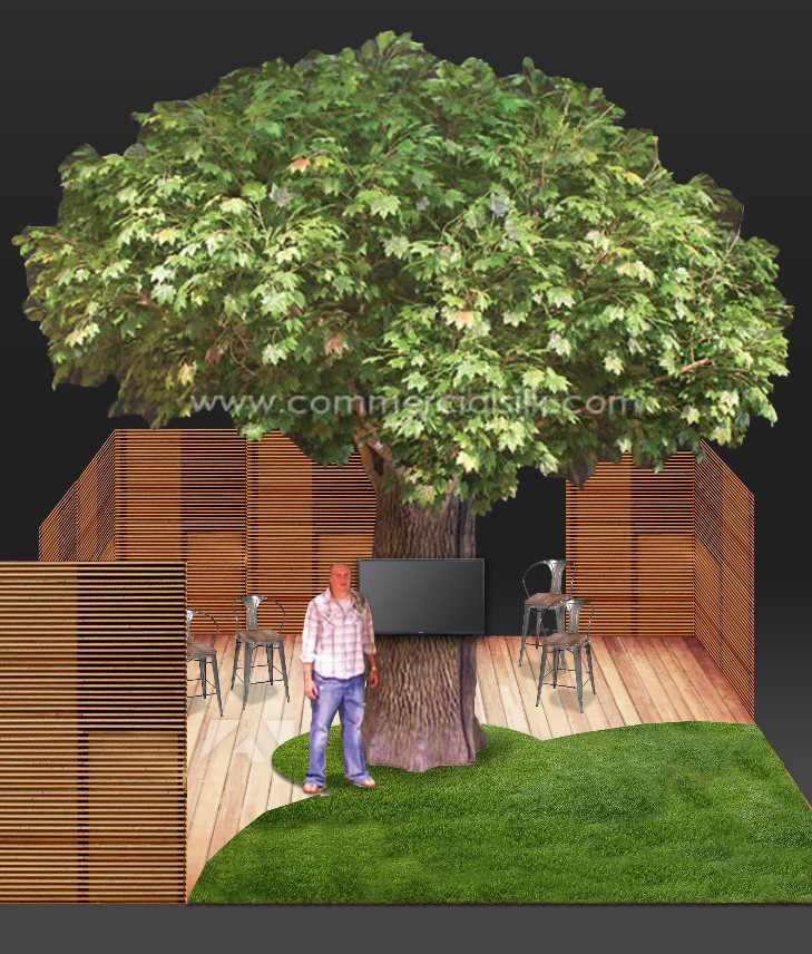 ISTE Tree Booth Concept