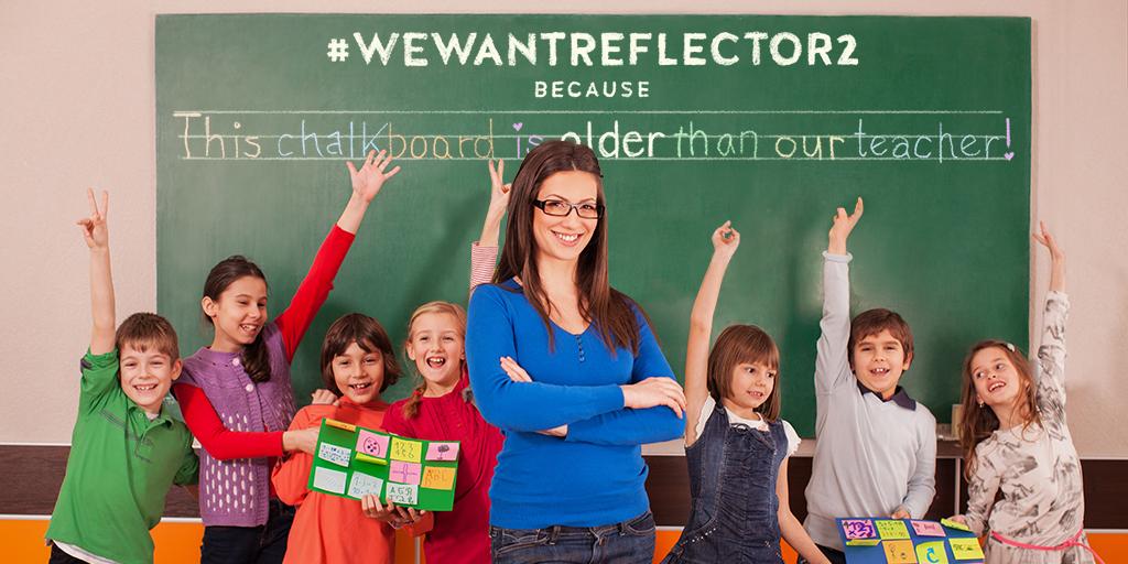 WeWantReflector Twitter
