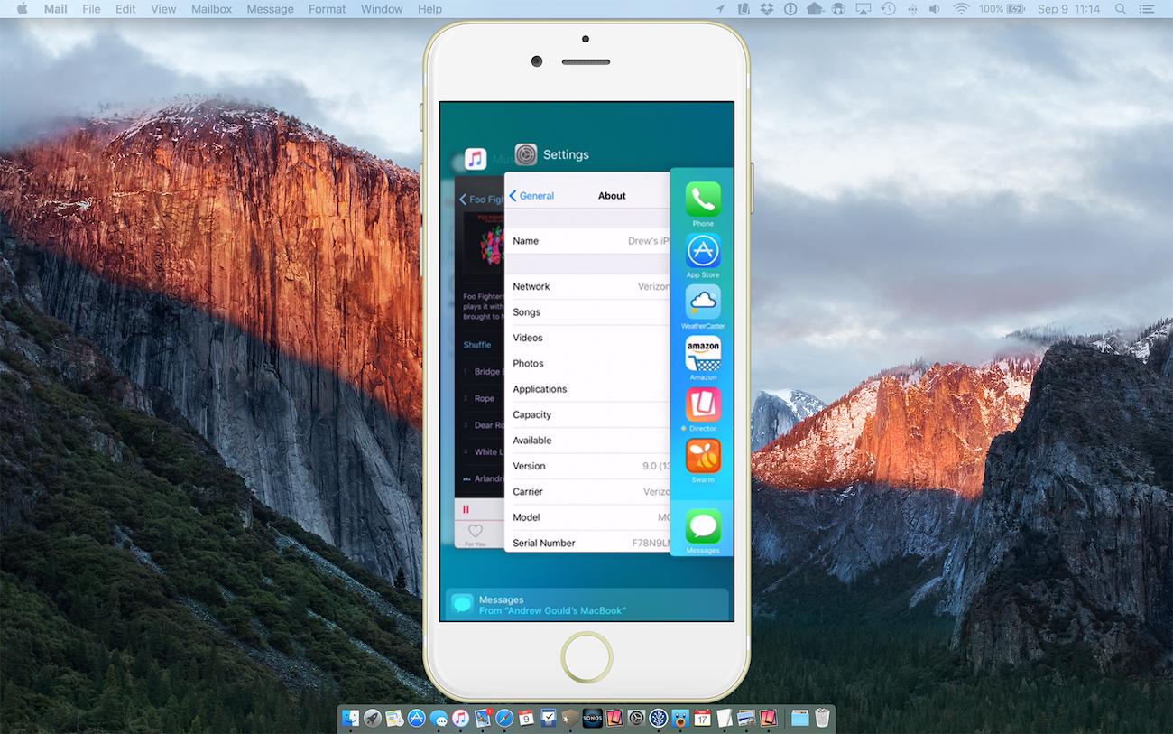 iOS 9 update