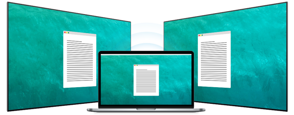 Screen mirror to multiple displays