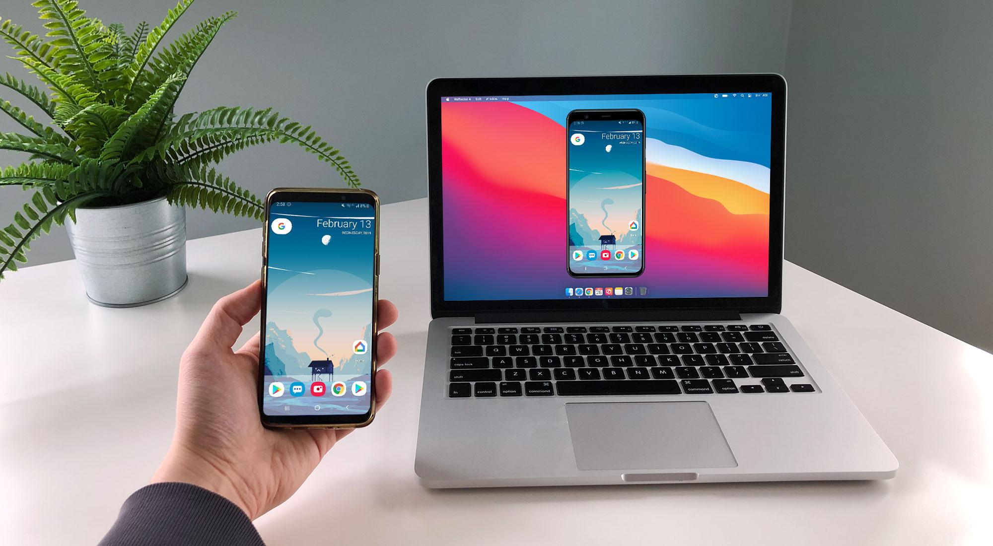 Samsung phone mirroring to computer