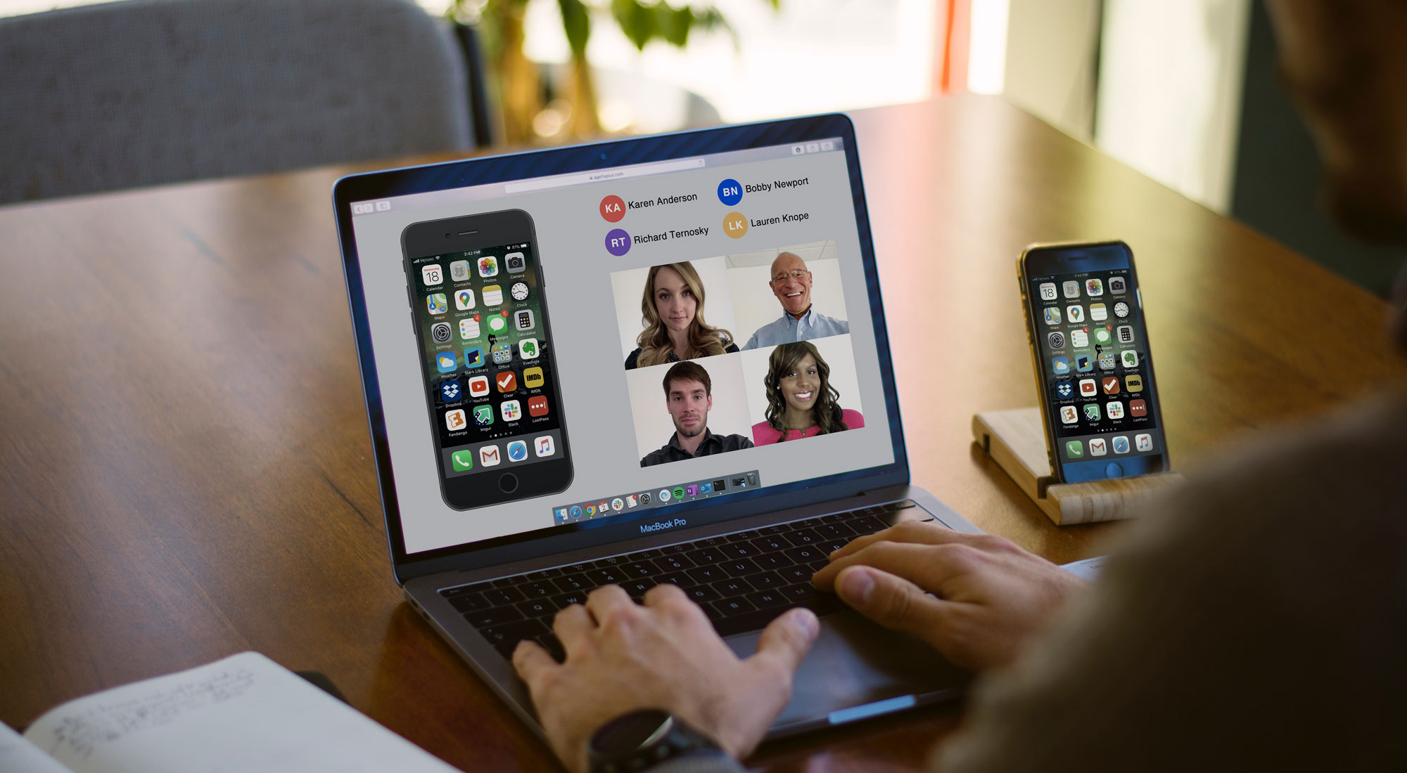 Working from Home? Share Your Mobile Device Screen During Remote Meetings
