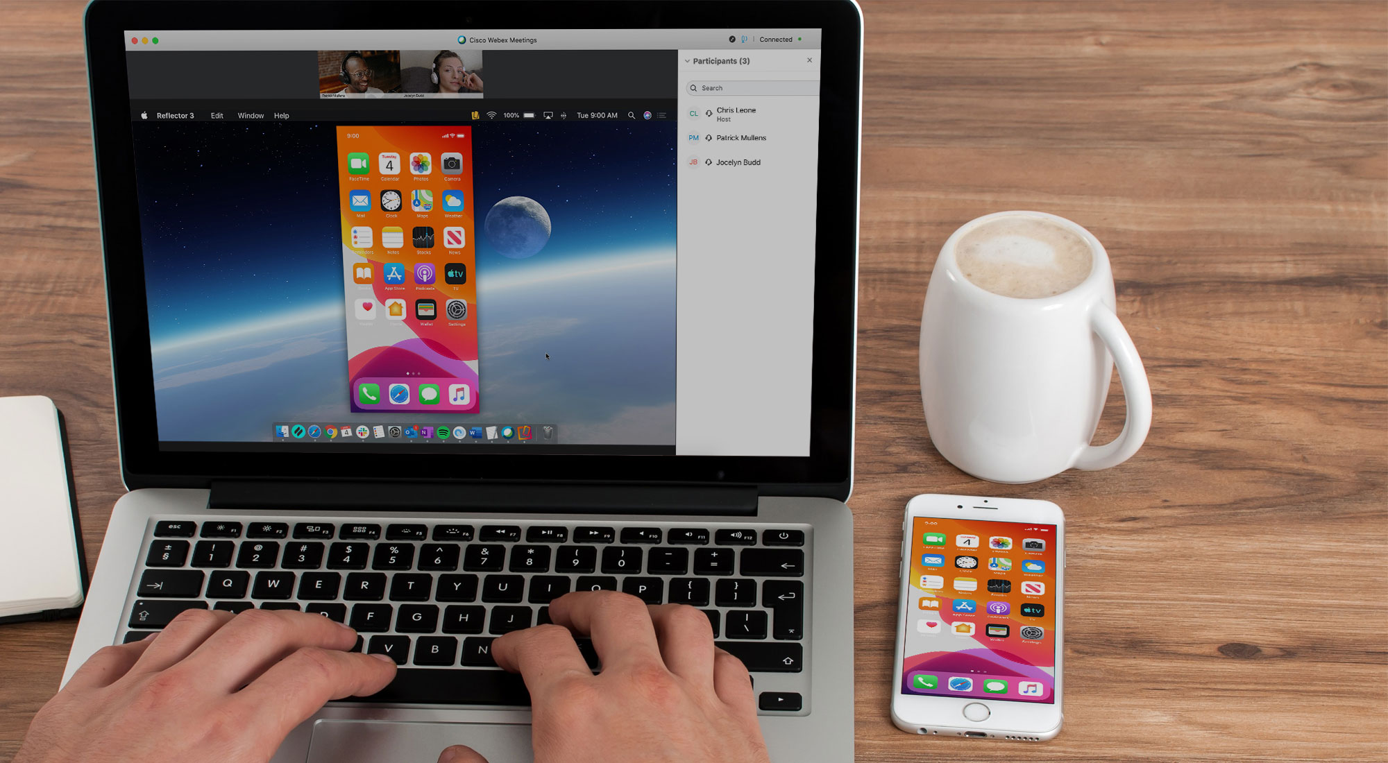 How to Share YouriPhone, iPad and AndroidScreen with Cisco Webex