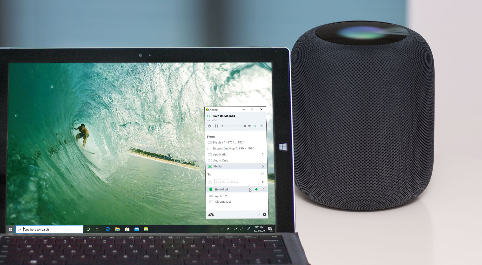 How to Stream Music to Apple HomePod from Windows PC