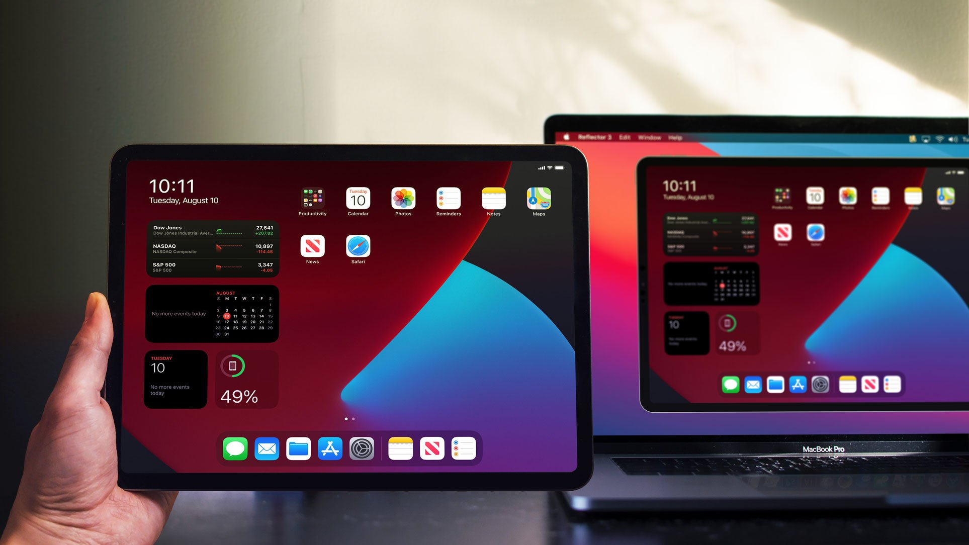 iPadOS 14 iPad screen mirroring to computer
