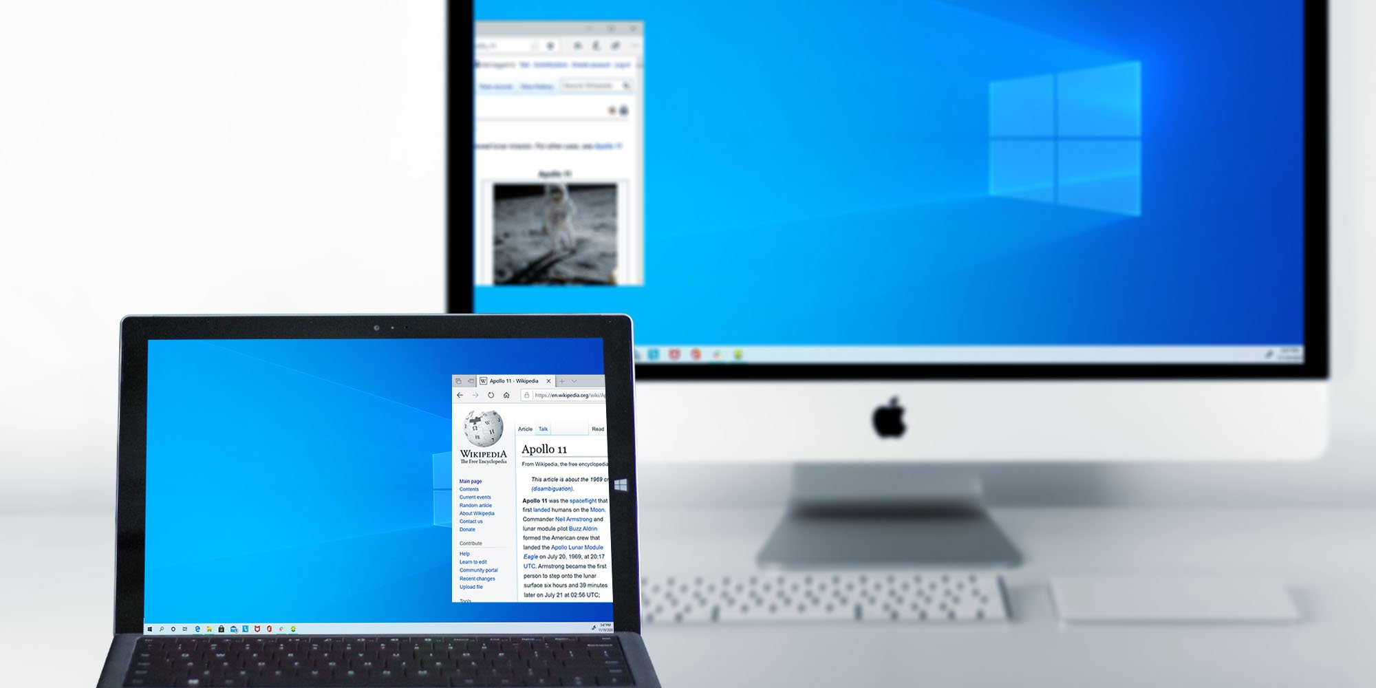 How to Extend Windows Desktop to Mac