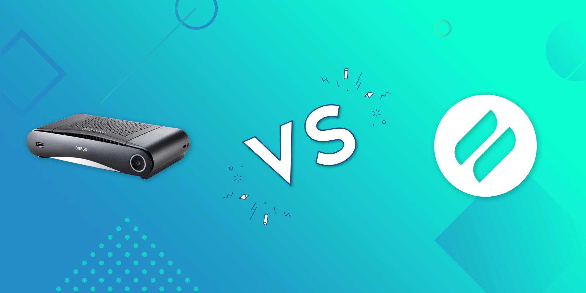 Ditto vs. Barco ClickShare